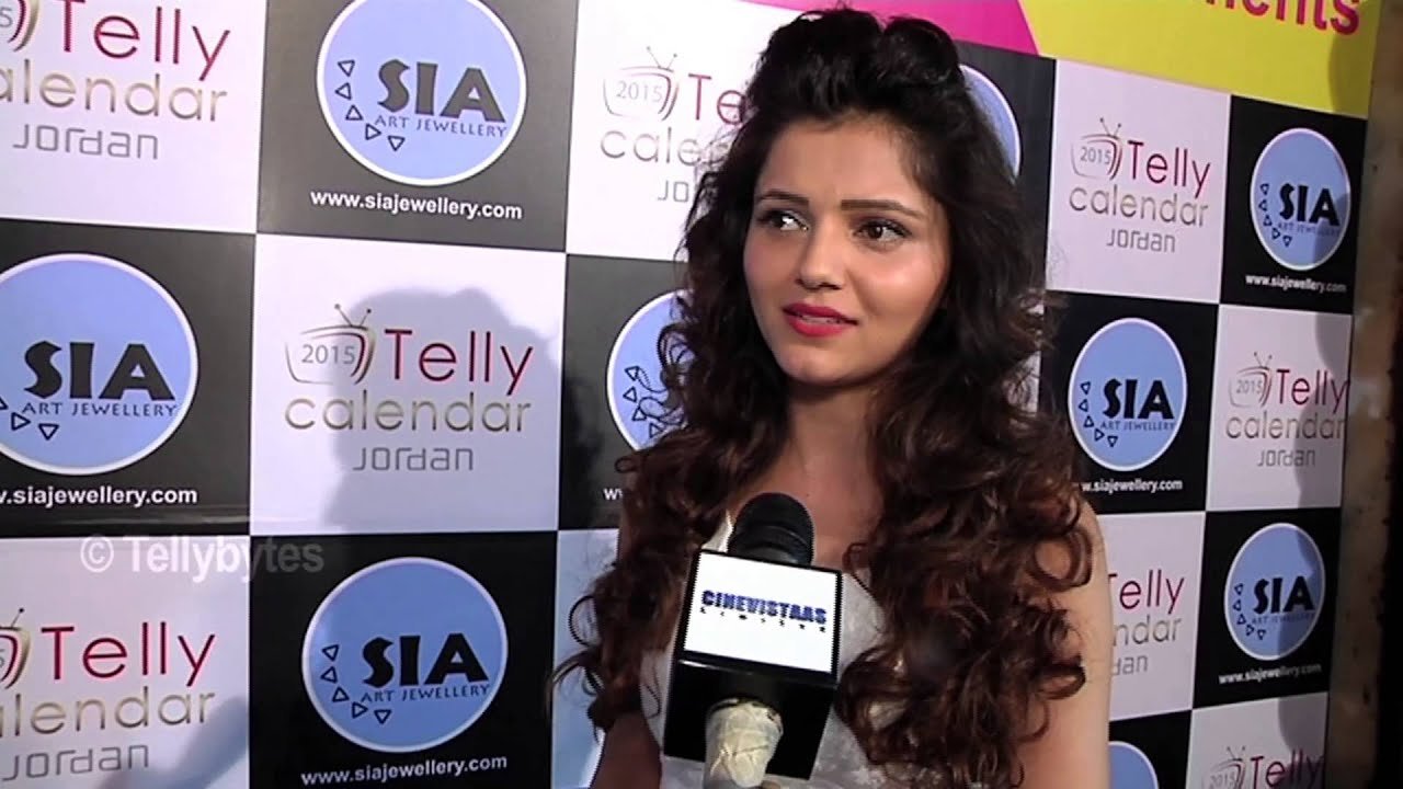 Calendar Sia : Rubina dilaik looked stunning at sia jewels and telly calendar pre