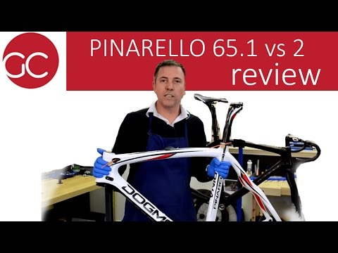 Pinarello Dogma 65.1 Think 2 vs. Pinarello Dogma 2