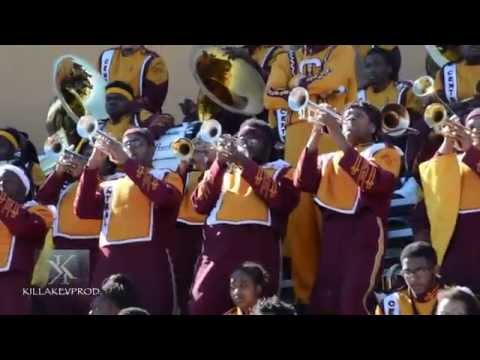 Central State University Marching Band - Trumpet Fanfares - 2015