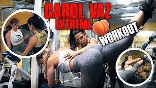 Carol Vaz Extreme Training | How To Grow Your Glutes Hardcore Style