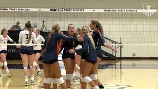 Illini Volleyball   Highlights vs. Montana State 8/25/17