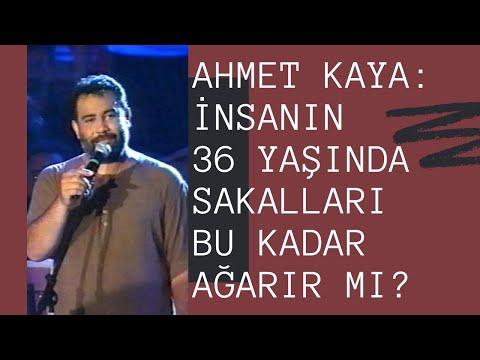 Ahmet Kaya: İnsanın 36 Yaşında Sakalları Bu Kadar Ağarır Mı? (İstanbul Konserinin Tamamı)