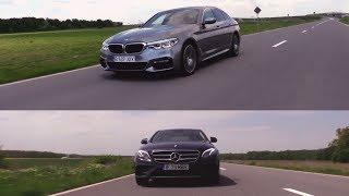 BMW Blog Romania - Test Mercedes-Benz E400 4MATIC vs BMW 540i xDrive