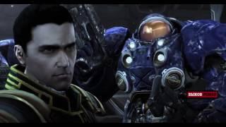 Игрофильм StarCraft 2 Нова  Незримая Война весь сюжет All Cinematic Все видео + cutscene