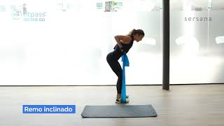 Fitpass on the Go! - Resitance Bands Workout by Leticia Román Co-Founder de Sersana Method