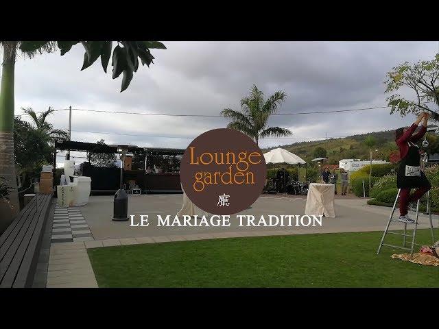Le mariage tradition au Lounge Garden