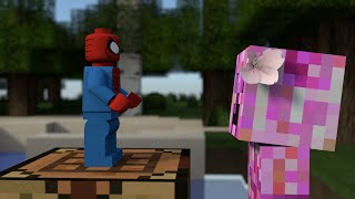 Monster School: Crafting Superheroes - Minecraft Animation