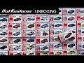 Let's Unbox 50 2016-2017 Tomica Cars!