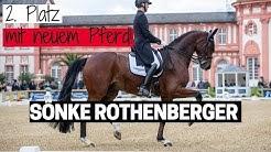 Sönke Rothenberger glänzt mit neuem Pferd ✨ | Santiano R tanzt mit ihm durch die Flutlichtkür