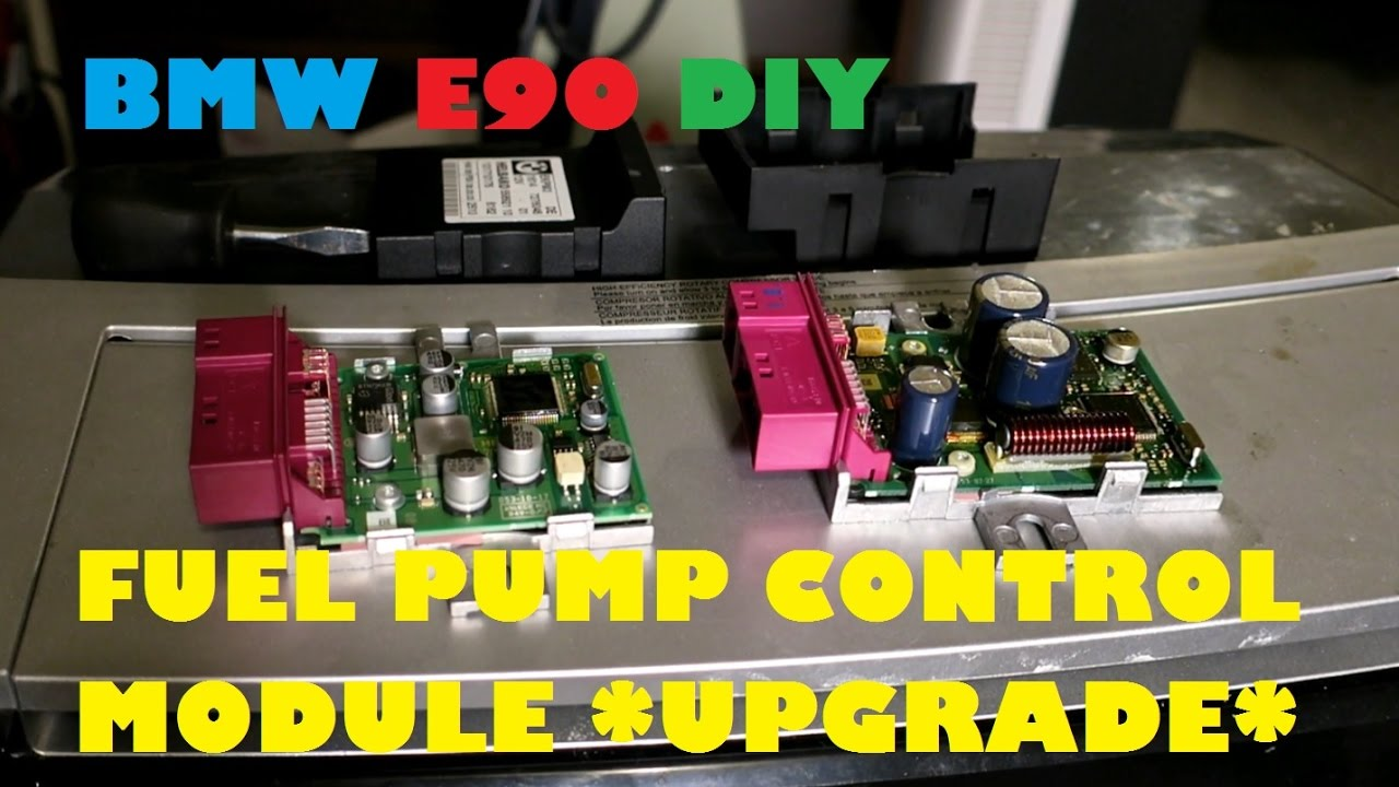 Hard to Start E90 BMW? Cranking for long? Potential Fix (Fuel Pump Control Module Replacement