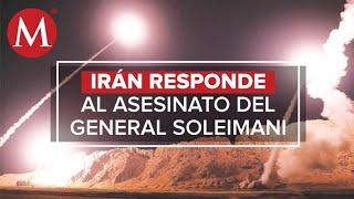 Irán ataca base militar de Estados Unidos en Irak