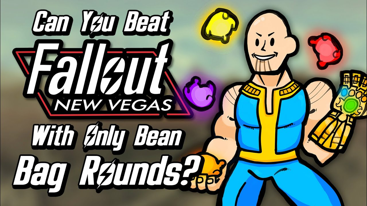 Can You Beat Fallout: New Vegas With Only Bean Bag Rounds?