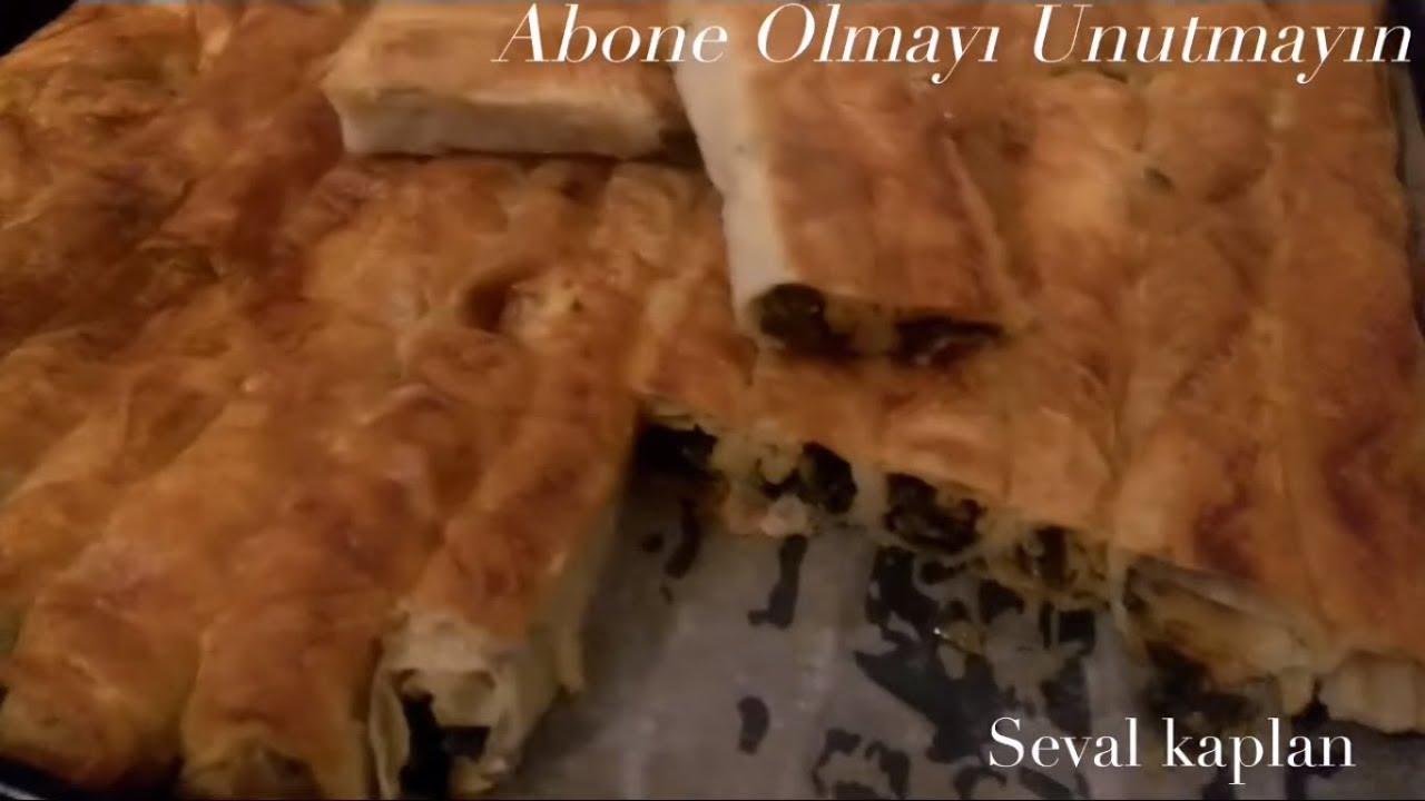Hazır Yufkadan ıspanaklı Kol Böreği Tarifi Videosu