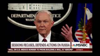 The selective memories of Jeff Sessions, and obstruction by  FBI director