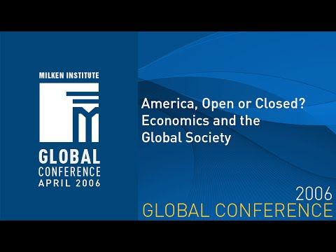 America, Open or Closed? Economics and the Global Society