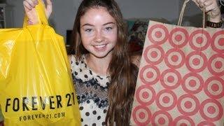 Back-to-School Fashion Haul 2012!