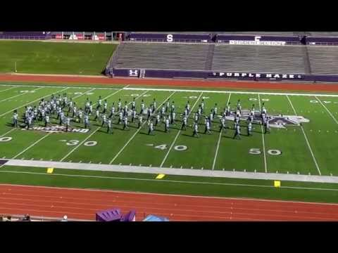 West Rusk High School Band 2016 - UIL Region 21 Marching Contest