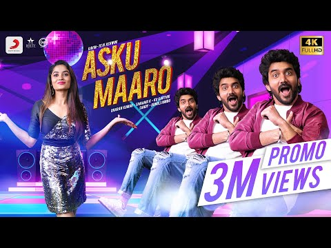 Asku Maaro Video Song| Kavin, Teju Ashwini | Dharan Kumar | K. Sivaangi | Sandy | Dongli Jumbo