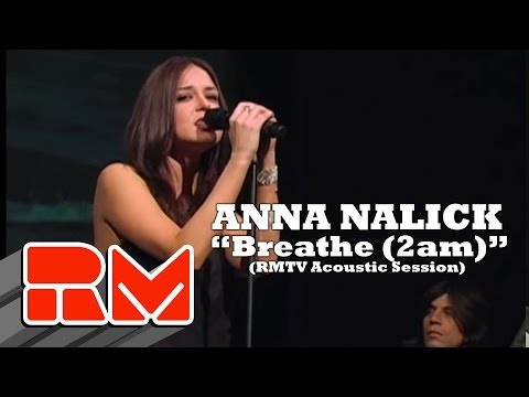 "Anna Nalick - ""Breathe (2am)"" Live Acoustic (RMTV Official)"