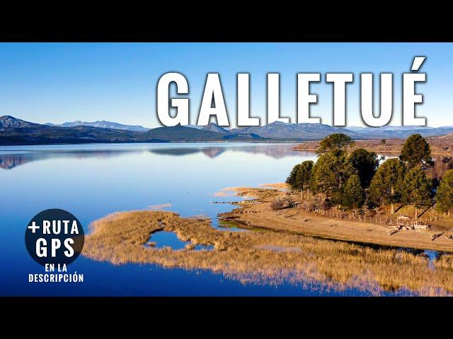 Laguna Galletué: Donde nace el río Bío Bío - Viaje aéreo con música relajante