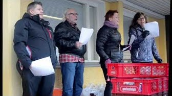 Rauman Seudun Työttömät ry jakoi joulupuuroa ja musiikkia