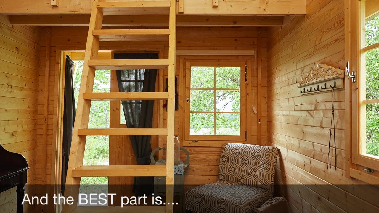 how to build a log bunkie