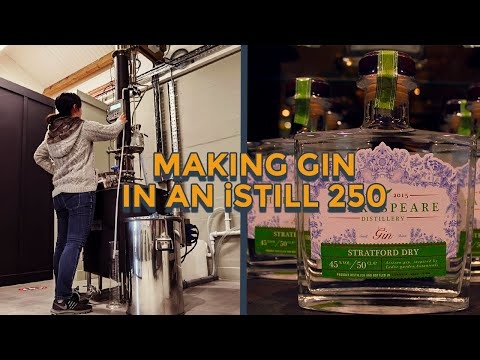 Distilling Dry Gin in an iStill 250 | Shakespeare Distillery
