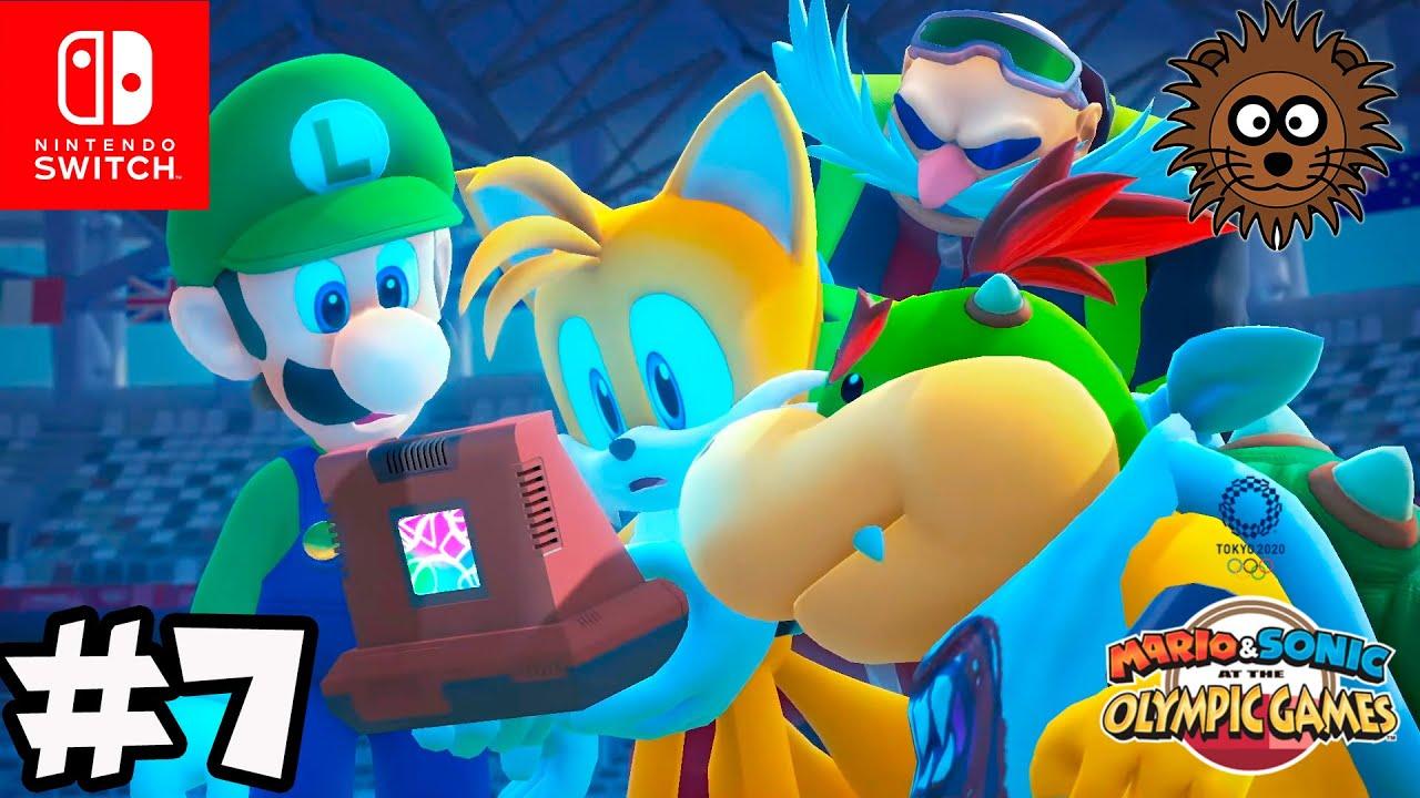 MARIO y SONIC en los Juegos Olímpicos de Tokio 2020 Modo Historia #7 | Nintendo Switch