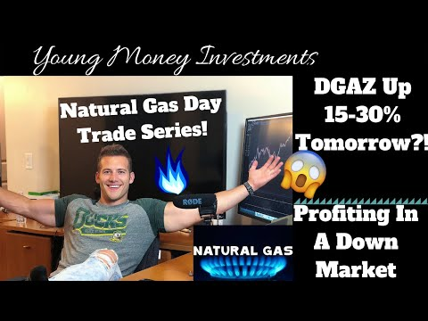 15-30% Rip For DGAZ Tomorrow?! I Rules For Trading Natural Gas ETF's