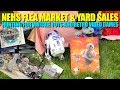 FLEA MARKET & YARD SALE HUNTING Toys and Video games NazFleas #105