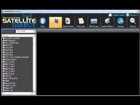free download satellite direct tv pc software