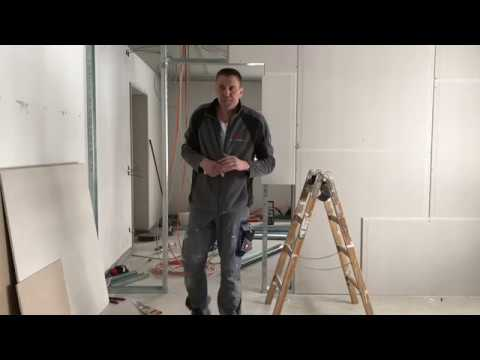 Как правильно сделать дверной проем из гипсокартона
