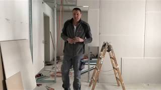 как самому и правильно сделать дверной проём в перегородке из гипсокартона?