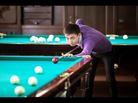 Бильярд Чемпионат Мира Полуфинал Сагынбаев Курта