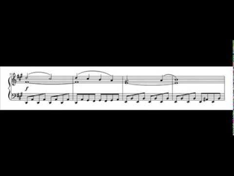 Pokemon XY Soundtrack - Battle! Champion Diantha (Piano Score)