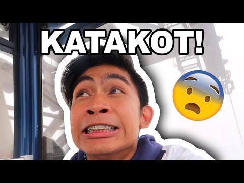 FIRST TIME MAG CABLE CAR! *GRABE SIGAW KO!* | JIRO MORATO