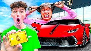 I Bought $200,000 LAMBORGHINI with Mom's Credit Card - Prank