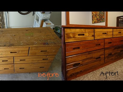 My First Furniture Refinishing Project! | HeyCass