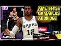 AMETHYST LAMARCUS ALDRIDGE GAMEPLAY! IS HE WORTH IT!? NBA 2k19 MyTEAM