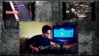 Dream Theater : Stream of Consciousness Split Screen Tribute to DT by MetalbarD