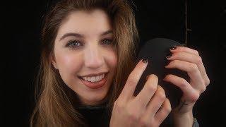 ASMR Tapping, Scratching & Hair Brushing ~