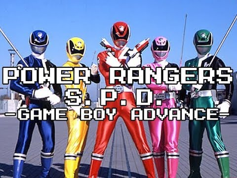 Review #695 - Power Rangers SPD (GBA)