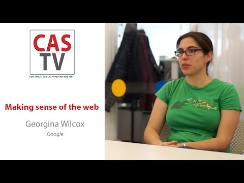 Georgina Wilcox - Making sense of the web