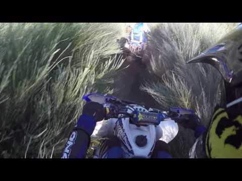 ATV QUAD DESCENT GROUP - WARRIOR BACK VIEW - GOPRO