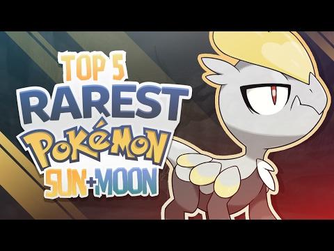 Top 5 Rarest Pokemon in Pokemon Sun and Moon
