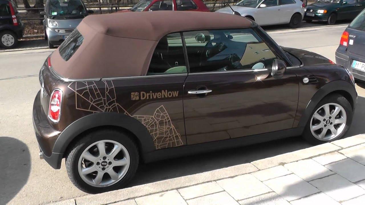 bmw mini cooper convertible drivenow youtube. Black Bedroom Furniture Sets. Home Design Ideas