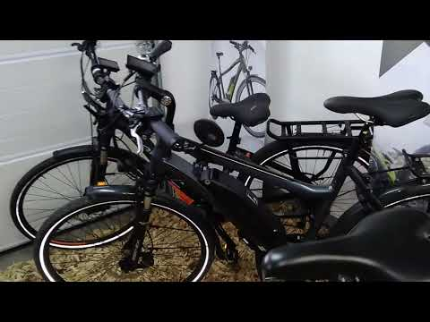 wheeler 45 km h 2019 i vision speed elektro fahrrad youtube. Black Bedroom Furniture Sets. Home Design Ideas