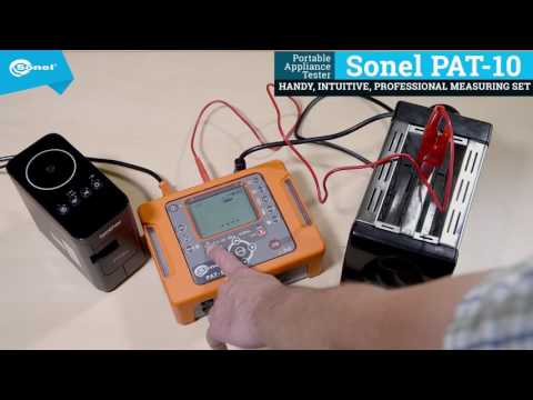Class I Device Test - Sonel PAT-10