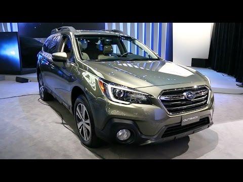2018 Subaru Outback - 2017 New York Auto Show