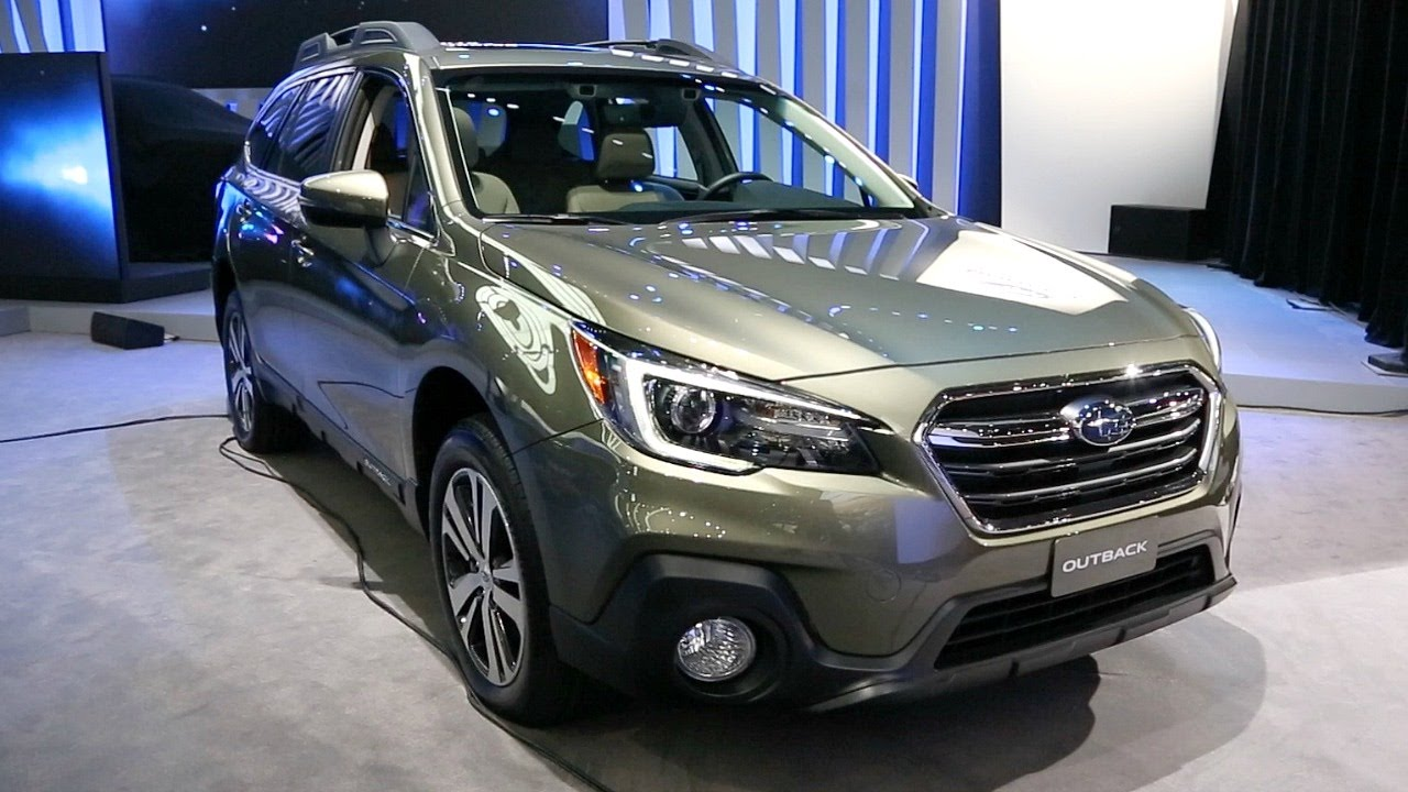 2018 subaru outback 2017 new york auto show youtube. Black Bedroom Furniture Sets. Home Design Ideas